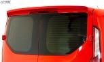 RDX Heckspoiler für FORD Transit Custom / Tourneo Custom (für Flügeltüren) Dachspoiler Spoiler