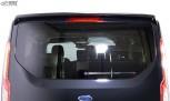 RDX Heckspoiler für FORD Transit Custom / Tourneo Custom (für Heckklappe) Dachspoiler Spoiler