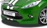 RDX Frontspoiler FORD Fiesta MK7 JA8 JR8 (2008-2012) Frontlippe Front Ansatz Spoilerlippe