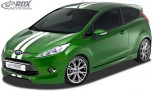 RDX Frontspoiler für FORD Fiesta MK7 JA8 JR8 (2008-2012) Frontlippe Front Ansatz Spoilerlippe