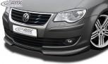 RDX Frontspoiler VW Touran 2007+ Frontlippe Front Ansatz Vorne Spoilerlippe