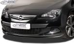 RDX Frontspoiler OPEL Astra J GTC (nur für OPC-Line Frontlippe!) Frontlippe Front Ansatz Spoilerlippe