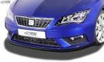 RDX Frontspoiler SEAT Leon 5F Facelift 2017+ (auch SC und ST) Frontlippe Front Ansatz Vorne Spoilerlippe Schwert
