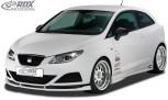 RDX Frontspoiler VARIO-X SEAT Ibiza 6J, 6J SC & 6J ST -03/2012 (nicht FR, Cupra, Bocanegra) Frontlippe Front Ansatz Vorne Spoilerlippe