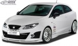 RDX Frontspoiler VARIO-X SEAT Ibiza 6J Cupra & Bocanegra -03/2012 Frontlippe Front Ansatz Vorne Spoilerlippe
