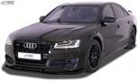 RDX Frontspoiler VARIO-X für AUDI A8 D4/4H S-Line, S8, Sport-Edition (2013+) Frontlippe Front Ansatz Vorne Spoilerlippe
