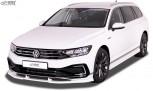 RDX Frontspoiler VARIO-X für VW Passat 3G B8 GTE & R-Line (2019+) Frontlippe Front Ansatz Vorne Spoilerlippe