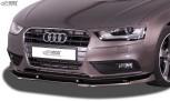"""RDX Frontspoiler VARIO-X für AUDI A4 B8 Facelift 2011+ Frontlippe """"V2"""" Front Ansatz Vorne Spoilerlippe"""