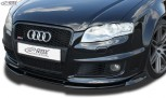 RDX Frontspoiler VARIO-X AUDI RS4 B7 Frontlippe Front Ansatz Vorne Spoilerlippe