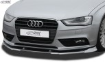 RDX Frontspoiler VARIO-X AUDI A4 B8 Facelift 2011+ Frontlippe Front Ansatz Vorne Spoilerlippe