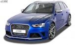 RDX Frontspoiler VARIO-X für AUDI RS4 B8 Frontlippe Front Ansatz Vorne Spoilerlippe