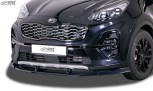 RDX Frontspoiler VARIO-X für KIA Sportage (QL/QLE, 2018+, auch für GT-Line) Frontlippe Front Ansatz Vorne Spoilerlippe