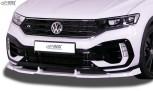 RDX Frontspoiler VARIO-X für VW T-Roc R Frontlippe Front Ansatz Vorne Spoilerlippe