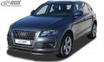 RDX Frontspoiler VARIO-X für AUDI Q5 -2012 & 2012+ Frontlippe Front Ansatz Vorne Spoilerlippe