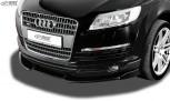 RDX Frontspoiler VARIO-X AUDI Q7 (4L) -2009 Frontlippe Front Ansatz Vorne Spoilerlippe