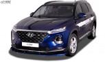 RDX Front Spoiler VARIO-X for HYUNDAI Santa Fe (TM) 2018-2020 Front Lip Splitter