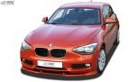 RDX Frontspoiler VARIO-X BMW 1er F20 / F21 2011-2015 Frontlippe Front Ansatz Vorne Spoilerlippe