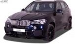 RDX Frontspoiler VARIO-X für BMW X5 (F15) M-Sport / M-Paket -2018 Frontlippe Front Ansatz Vorne Spoilerlippe