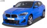 RDX Frontspoiler VARIO-X für BMW X2 F39 M-Sport, M35i (2018+) Frontlippe Front Ansatz Vorne Spoilerlippe