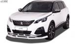 RDX Front Spoiler VARIO-X for PEUGEOT 5008 (M) 2017-2020 Front Lip Splitter