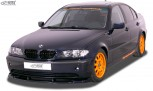RDX Frontspoiler VARIO-X BMW 3er E46 Limousine / Touring 2002+ Frontlippe Front Ansatz Vorne Spoilerlippe