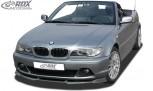 RDX Frontspoiler VARIO-X für BMW 3er E46 Coupe / Cabrio 2003+ Frontlippe Front Ansatz Vorne Spoilerlippe