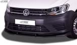 """RDX Frontspoiler VARIO-X für VW Caddy 2K (2015-2020) Frontlippe """"V2"""" Front Ansatz Vorne Spoilerlippe"""