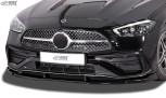 RDX Frontspoiler VARIO-X für MERCEDES C-Klasse AMG-Line W206, S206 Frontlippe Front Ansatz Vorne Spoilerlippe