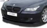 RDX Frontspoiler VARIO-X BMW 5er E60 / E61 2007+ Frontlippe Front Ansatz Vorne Spoilerlippe