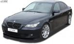 RDX Frontspoiler VARIO-X für BMW 5er E60 / E61 2007+ Frontlippe Front Ansatz Vorne Spoilerlippe