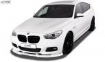 RDX Frontspoiler VARIO-X BMW 5er F07 GT M-Technik 2009-2013 Frontlippe Front Ansatz Vorne Spoilerlippe