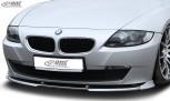 RDX Frontspoiler VARIO-X für BMW Z4 E85, E86 2006+ Frontlippe Front Ansatz Vorne Spoilerlippe