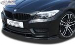 RDX Frontspoiler VARIO-X BMW Z4 E89 2009+ (M-Technik Frontstoßstange) Frontlippe Front Ansatz Vorne Spoilerlippe