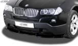RDX Frontspoiler VARIO-X BMW X3 E83 2003-2010 Frontlippe Front Ansatz Vorne Spoilerlippe