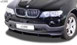 RDX Frontspoiler VARIO-X BMW X5 E53 2003+ Frontlippe Front Ansatz Vorne Spoilerlippe