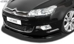 RDX Frontspoiler VARIO-X CITROEN C5 2008+ Frontlippe Front Ansatz Vorne Spoilerlippe