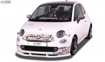 RDX Frontspoiler VARIO-X FIAT 500 2016+ Frontlippe Front Ansatz Vorne Spoilerlippe