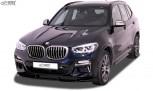 RDX Frontspoiler VARIO-X für BMW X3 (G01) & für BMW X4 (G02) für M-Sport & M-Aerodynamik-Paket Frontlippe Front Ansatz Vorne Spoilerlippe