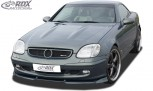 RDX Frontspoiler VARIO-X MERCEDES SLK R170 2000+ Frontlippe Front Ansatz Vorne Spoilerlippe