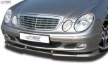 RDX Frontspoiler VARIO-X MERCEDES E-Klasse W211 -2006 Classic/Elegance Frontlippe Front Ansatz Vorne Spoilerlippe