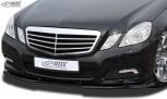 RDX Frontspoiler VARIO-X für MERCEDES E-Klasse W212 2009-2013 Frontlippe Front Ansatz Vorne Spoilerlippe