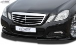 RDX Frontspoiler VARIO-X MERCEDES E-Klasse W212 2009-2013 Frontlippe Front Ansatz Vorne Spoilerlippe