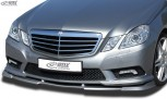 RDX Frontspoiler VARIO-X MERCEDES E-Klasse W212 AMG-Styling 2009-2013 (Passend an Fahrzeuge mit AMG-Styling Frontstoßstange) Frontlippe Front Ansatz Vorne Spoilerlippe