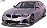 RDX Frontspoiler VARIO-X für BMW 3er G20 / G21 M-Sport und mit M-Aerodynamikpaket Frontlippe Front Ansatz Vorne Spoilerlippe