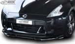 RDX Frontspoiler VARIO-X NISSAN 370Z 2008-2013 Frontlippe Front Ansatz Vorne Spoilerlippe