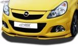 RDX Frontspoiler VARIO-X OPEL Corsa D OPC -2010 (Passend an OPC bzw. Fahrzeuge mit OPC Frontstoßstange) Frontlippe Front Ansatz Vorne Spoilerlippe