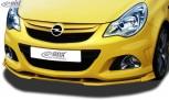 RDX Frontspoiler VARIO-X OPEL Corsa D Facelift OPC 2010+ (Passend an OPC bzw. Fahrzeuge mit OPC Frontstoßstange) Frontlippe Front Ansatz Vorne Spoilerlippe