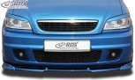 RDX Frontspoiler VARIO-X OPEL Zafira A OPC (Passend an OPC bzw. Fahrzeuge mit OPC Frontstoßstange) Frontlippe Front Ansatz Vorne Spoilerlippe