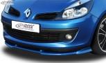 RDX Frontspoiler VARIO-X RENAULT Clio 3 Phase 1 (nicht RS) Frontlippe Front Ansatz Vorne Spoilerlippe