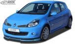 RDX Frontspoiler VARIO-X RENAULT Clio 3 RS Phase 1 Frontlippe Front Ansatz Vorne Spoilerlippe